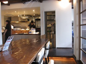 ラーメン屋さん兼カフェの画像